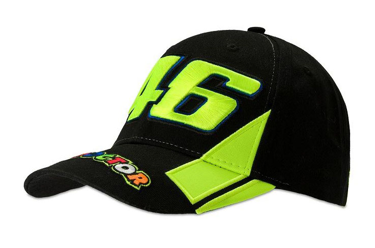 VR46 46 THE DOCTOR CAP BLACK