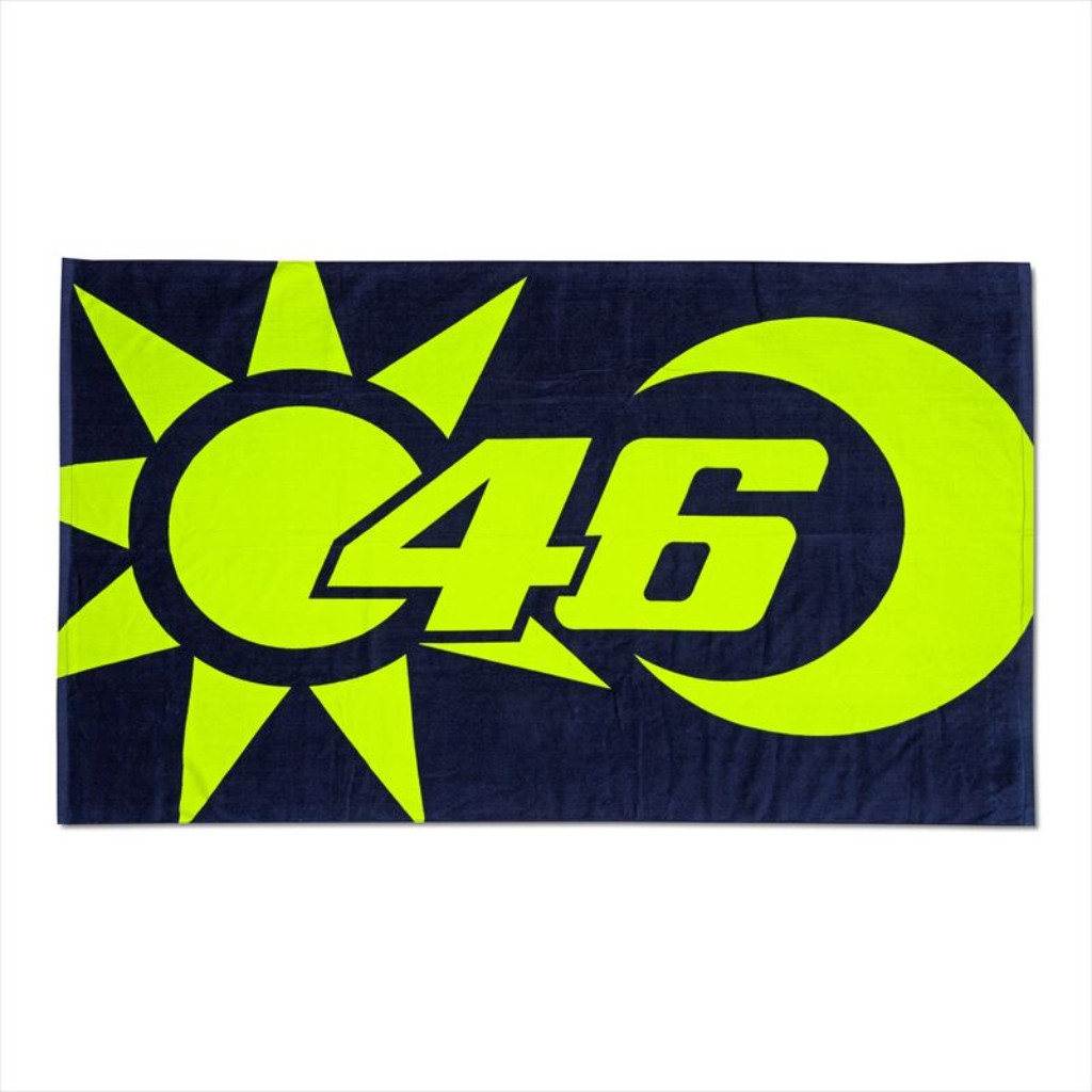 VR46 SUN AND MOON BEACH TOWEL