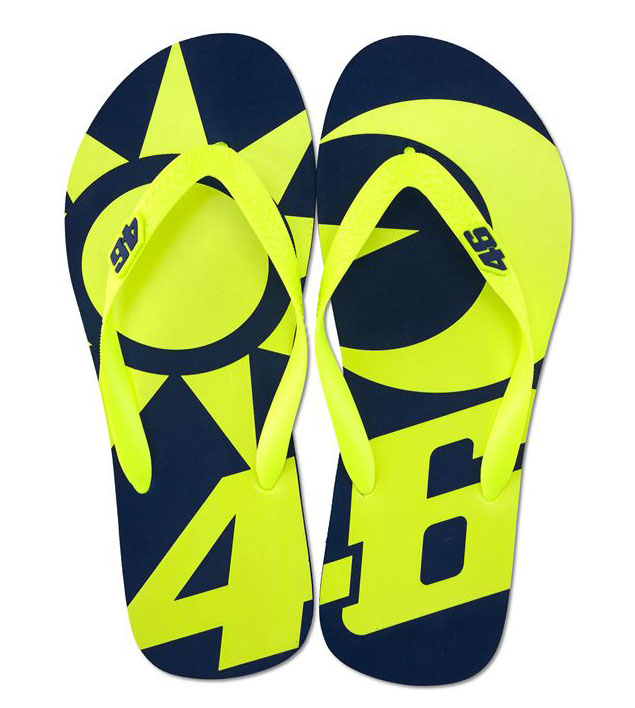 VR46 SUN AND MOON SANDALS
