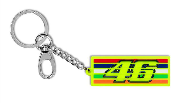 VR46 PORTACHIAVI 46 STRIPES