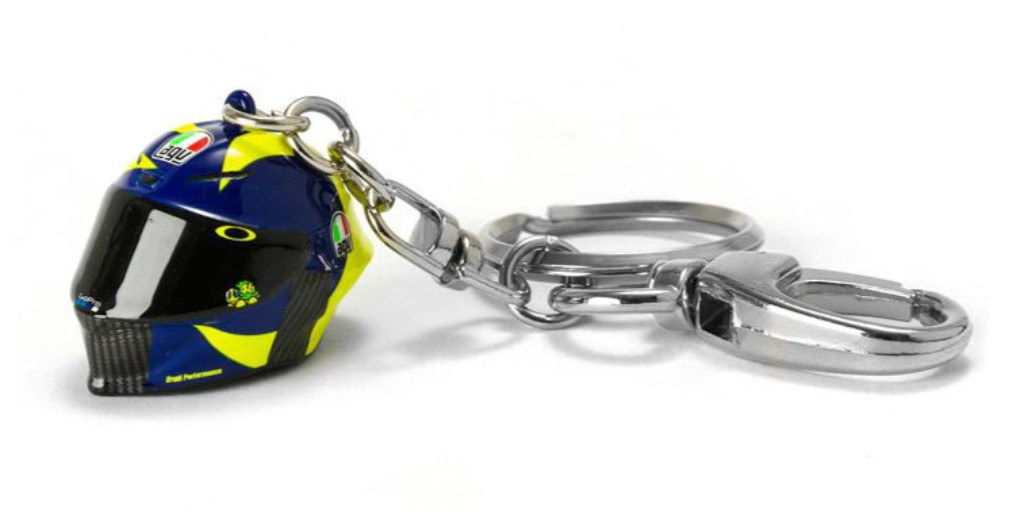 VR46 3D HELMET KEY RING