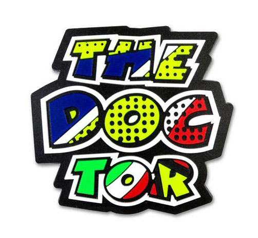 VR46 POP ART THE DOCTOR MAGNET