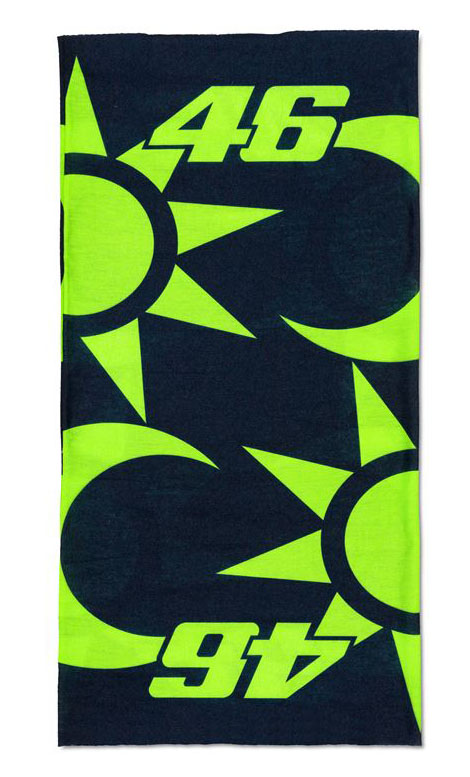 VR46 SUN AND MOON NECKWEAR
