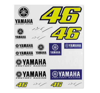VR46 19 STICKERS