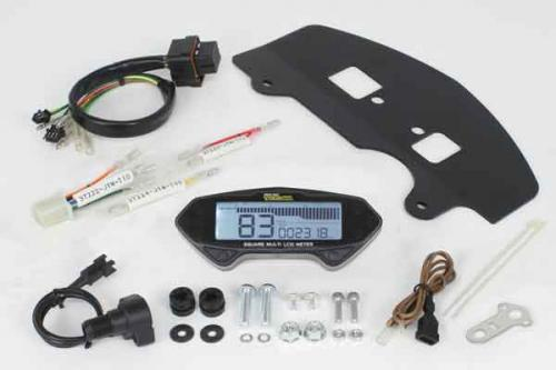 SP TAKEGAWA (Special Parts TAKEGAWA) Square Multi-LCD Meter Kit (for XTZ125)