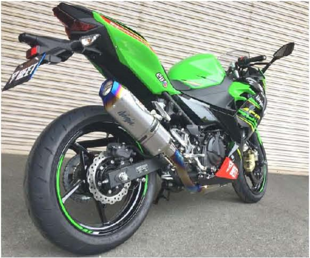 KAWASAKI NASSERT Evolution Type II Full Exhaust System