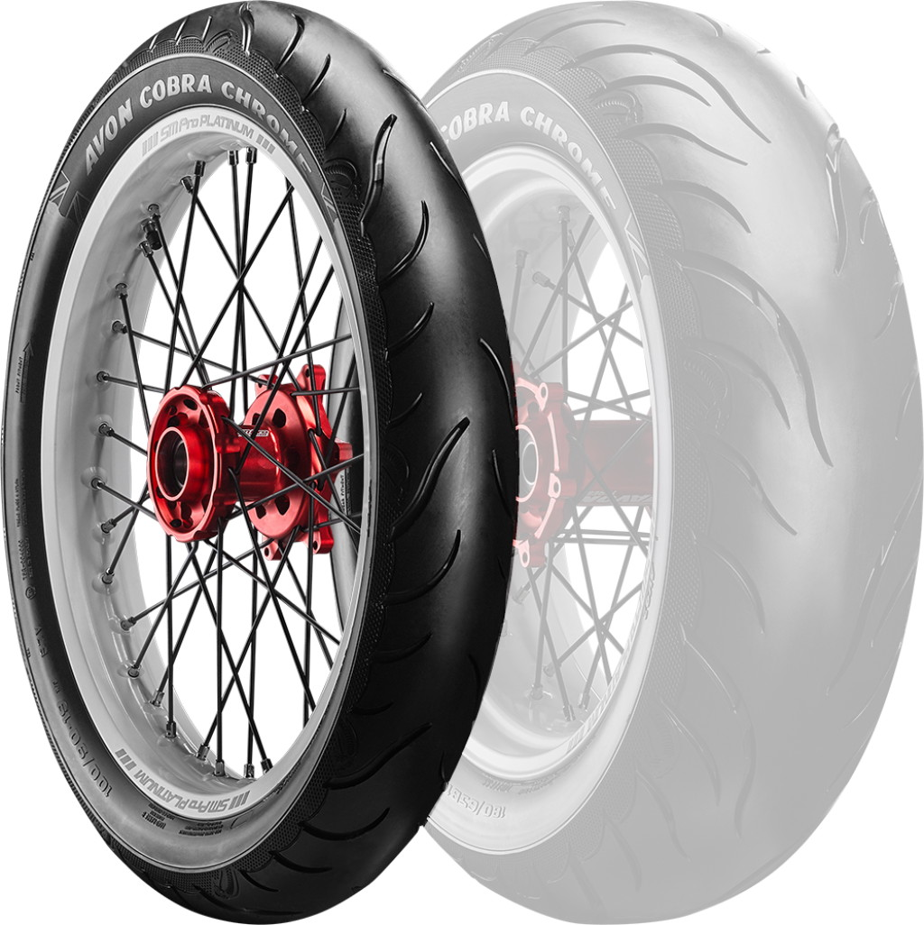 AVON Cobra Chrome AV91 [130 / 70R18 63H] Cobrachrome-Reifen