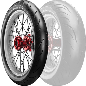 AVON Cobra Chrome AV91 [100 / 90-19 57V] Cobrachrome Tyre