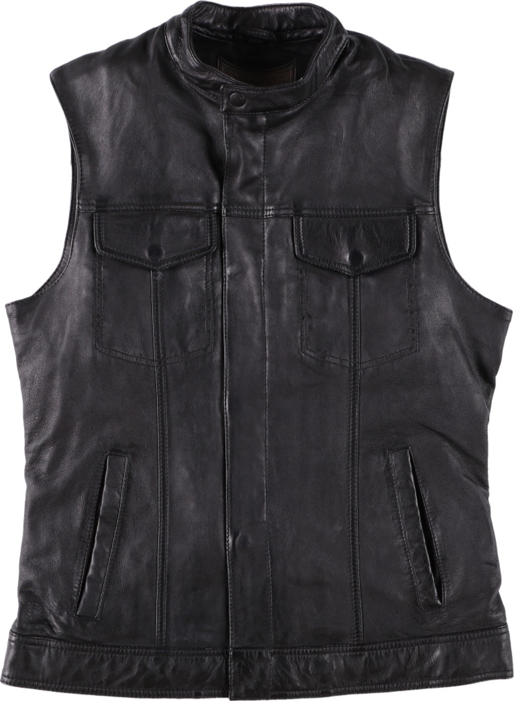 RIDEZ MIGHTY CLUB VEST BLACK