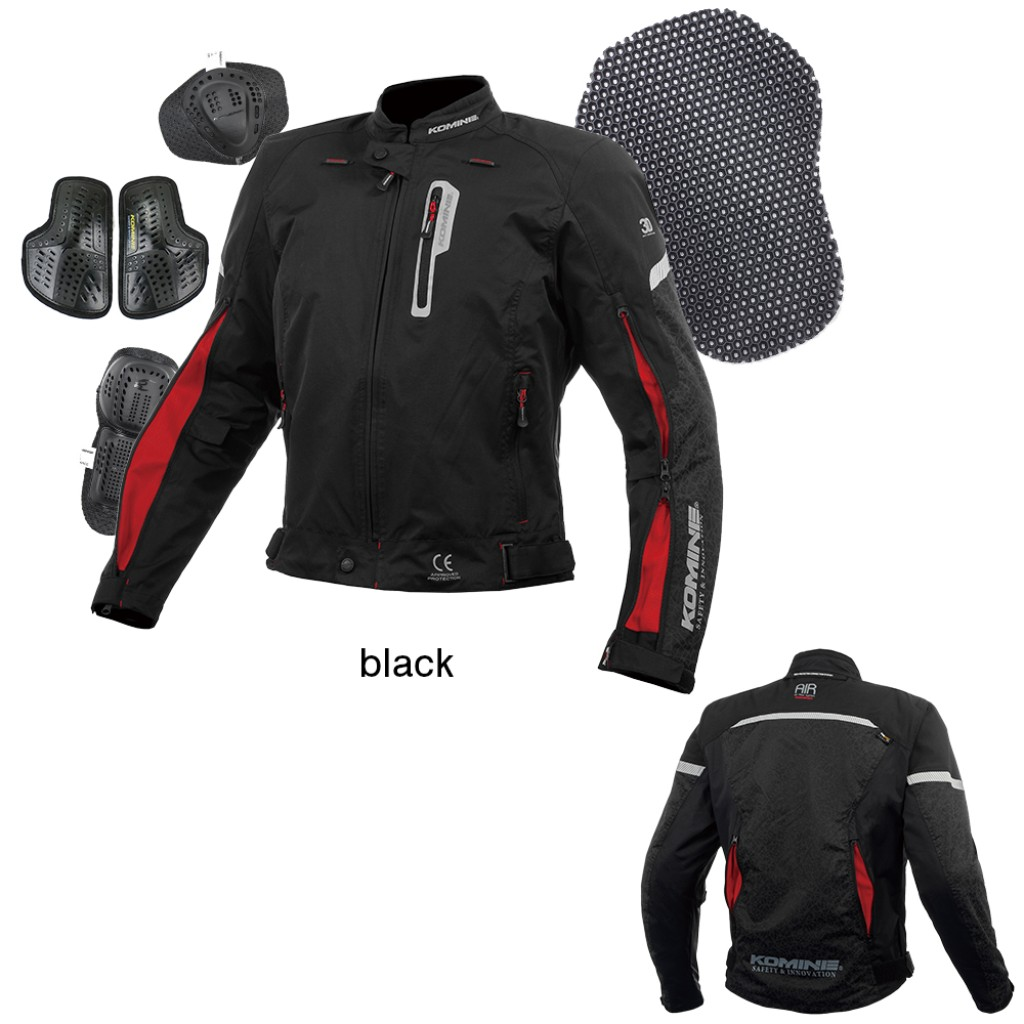 KOMINE JK-136 Air Flow System Jacket