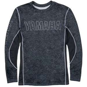 US YAMAHA Tumma puoli Yamaha Performance Long Sleeve Tee