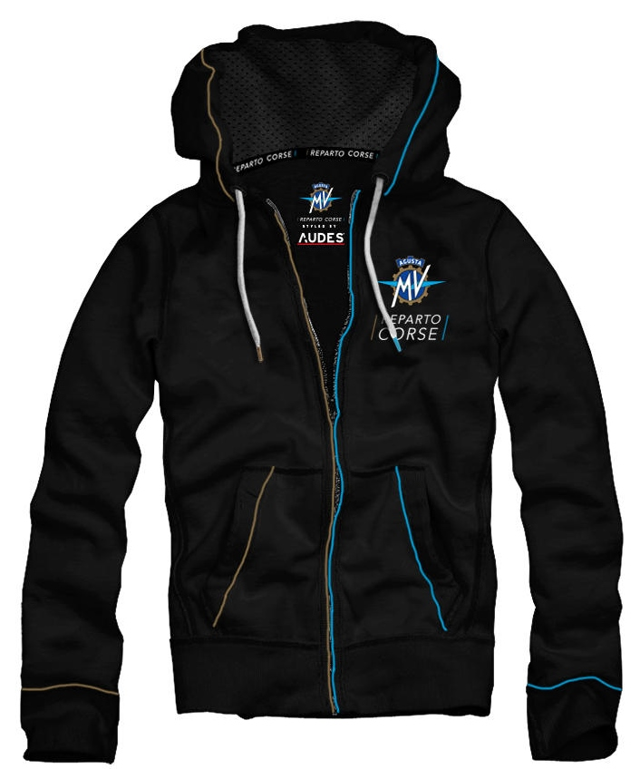 MV AGUSTA MV Agusta Piping Full Zip Hoody