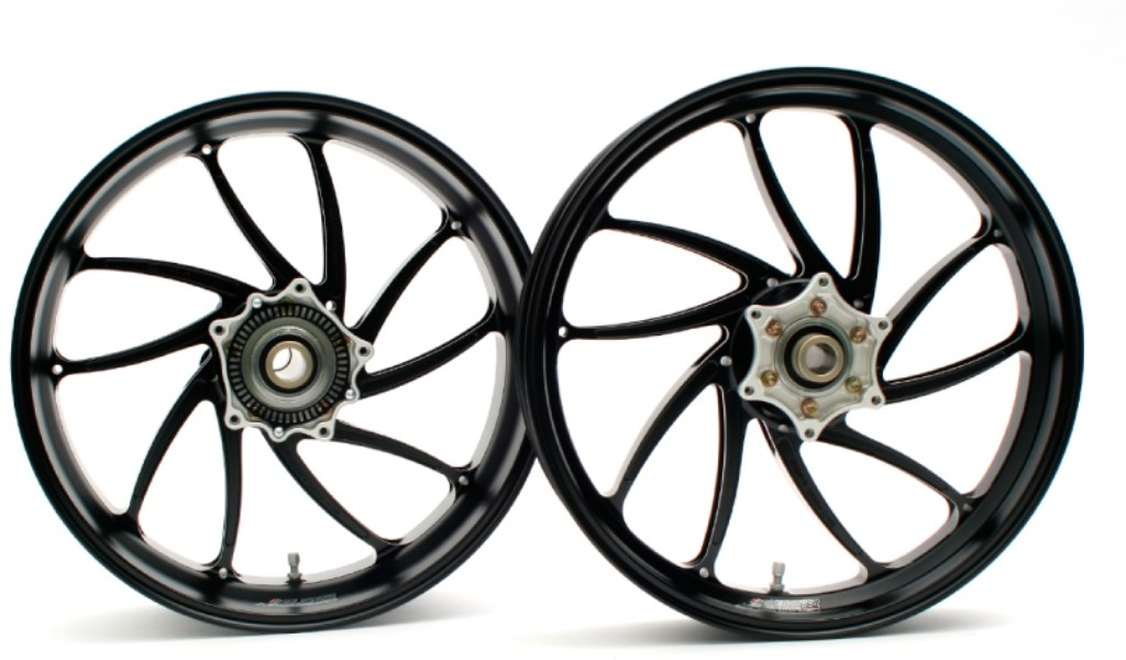 Aluminum Forged Wheel [TYPE-SB1] Front Glass Coating