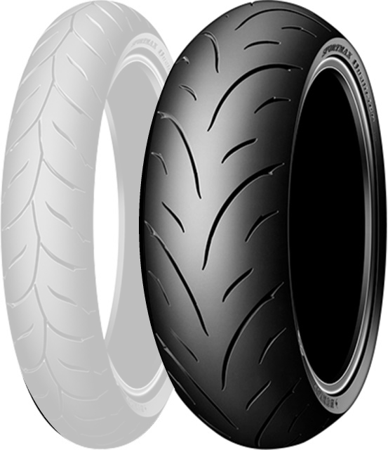 DUNLOP Qualifier [ 160/60 Zr 17 69 W R TL ] Quori Fire Tire