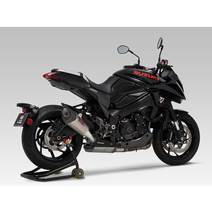 YOSHIMURA Slip-on Silencer R-11 Cyclone 1 End EXPORT SPEC Government Certi
