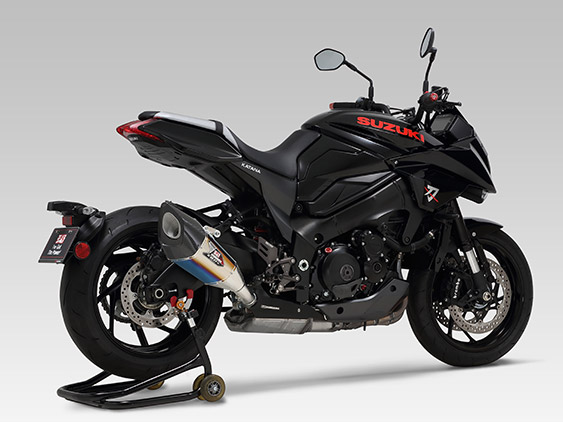 YOSHIMURA Slip-on Silencer R-11Sq Cyclone EXPORT SPEC شهادة الحكومة اليابا