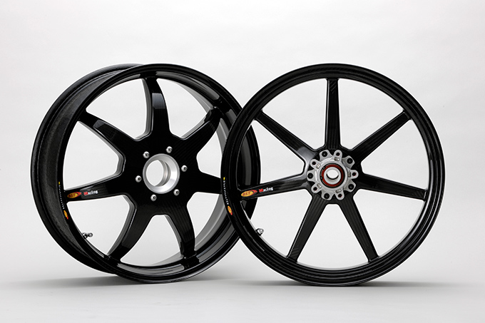 BST Carbon Wheel Black Mamba 7-Spoke Front and Rear Set