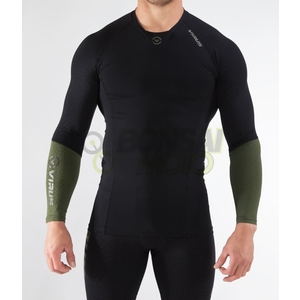 VIRUS Long Sleeve Compression (Co 49) Mäns Staycool Cold Fast Drying R