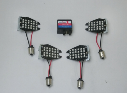 CF POSH LED Kit sequentieel aanpassen