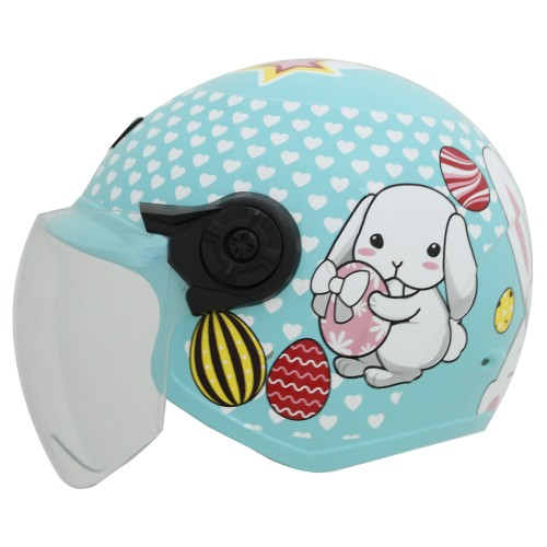 NIKKO HELMETS TU-505A Children Helmet/ Rabbit Pattern