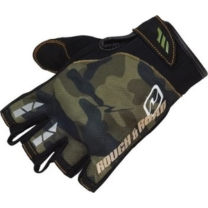 ROUGH&ROAD CK Half Finger Gloves