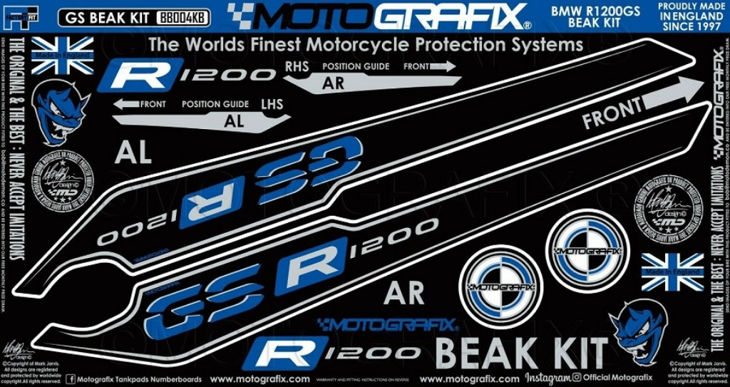 MOTOGRAFIX BEAK PROTECTION KIT