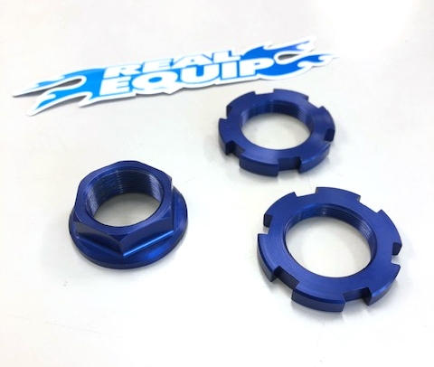 REAL EQUIP Steering Stem Nut Set
