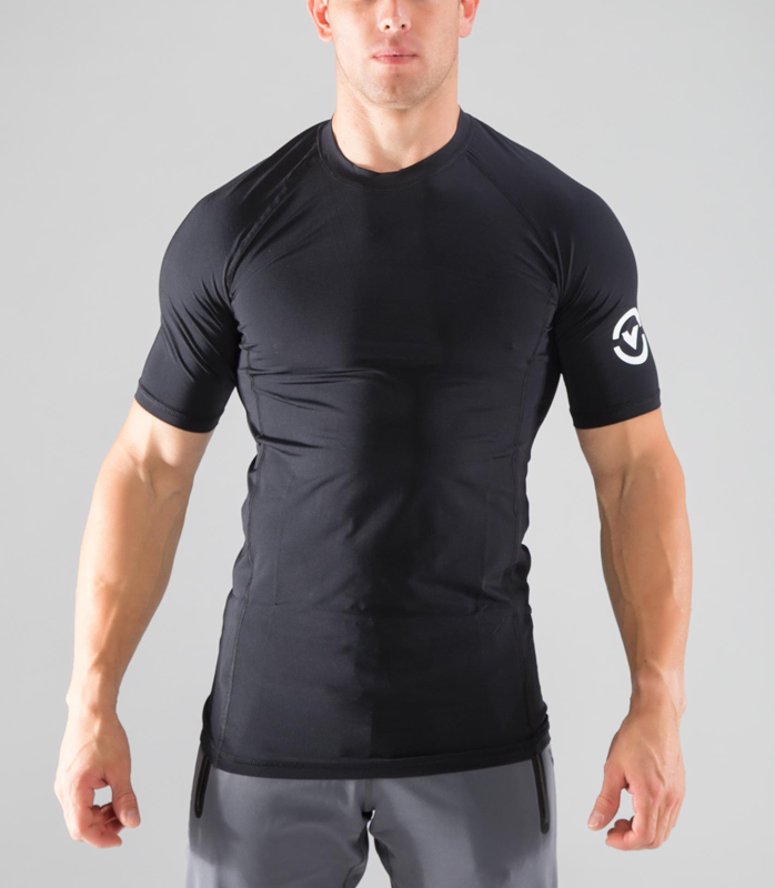VIRUS Short Sleeve Compression ( Co 32 ) VIRUS Men ' S Staycool Cold Fast Drying