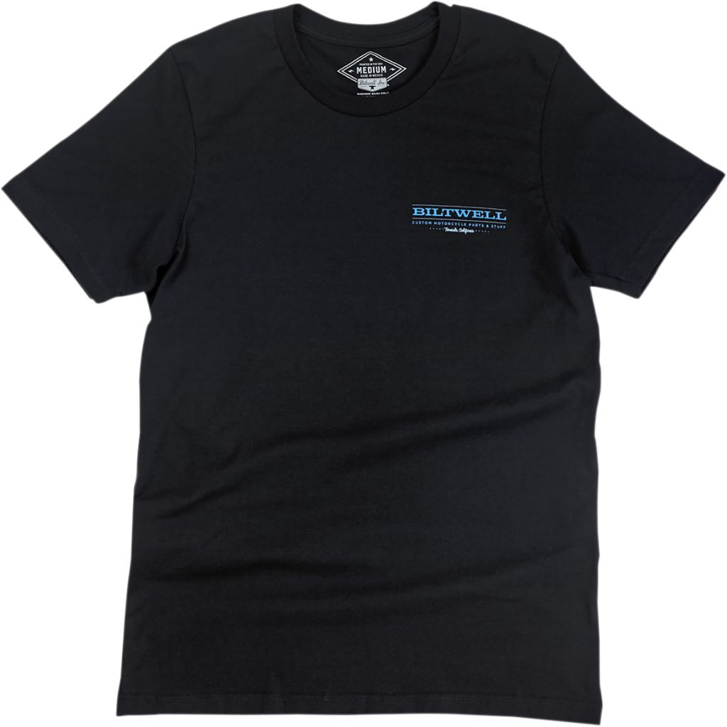 BILTWELL TEE BW BIGFOOT BLK T-shirt