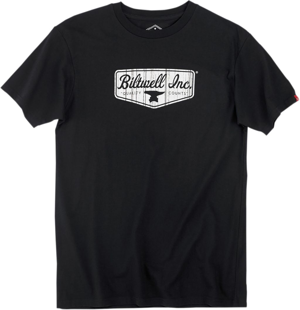 BILTWELL TEE BW SHIELD BLK T-shirt