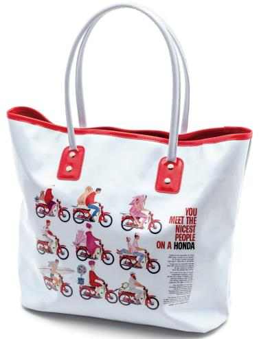 HONDA RIDING GEAR Nicest People Enamel Tote Bag