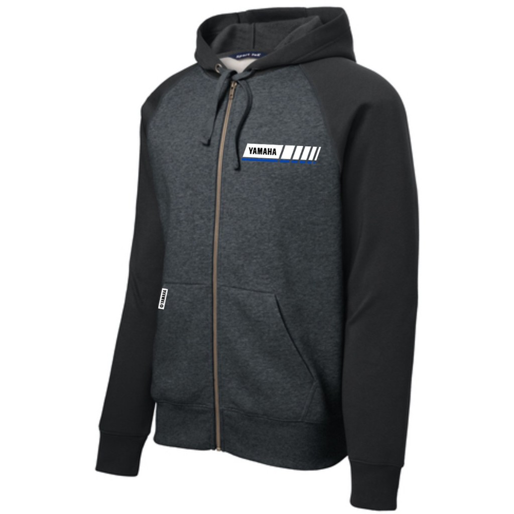 US YAMAHA Blue Revs Yamaha Full-Zip -hupullinen fleece