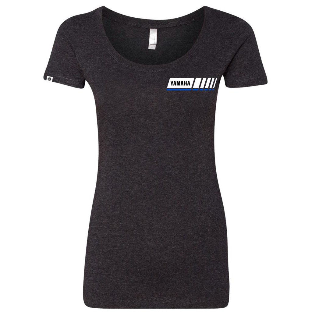 US YAMAHA Naisten Blue Revs Yamaha Tee Ladies