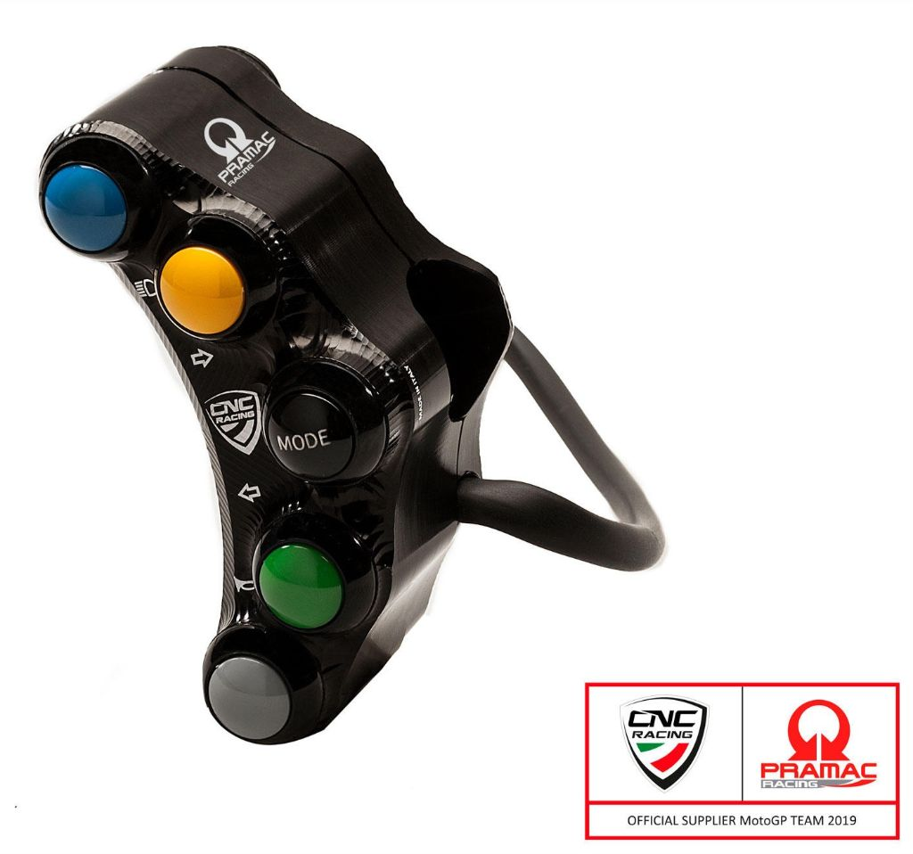 CNC Racing Left handlebar switch - Street use - Pramac Racing Limited Edition