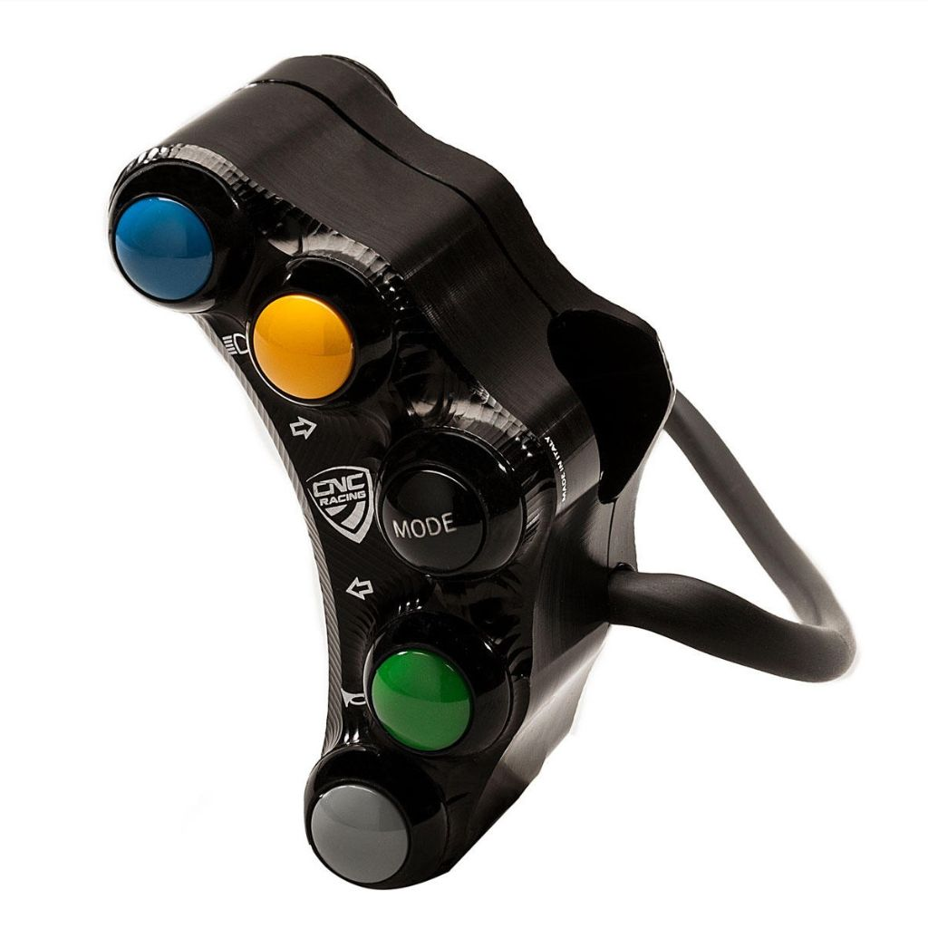 CNC Racing Left handlebar switch - Street use