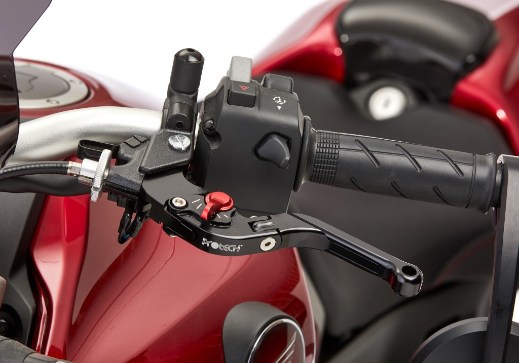 PROTECH brake lever distance and length adjustable I foldable