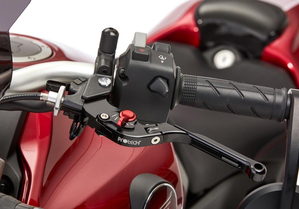 Red CNC Pivot Brake Clutch Levers for Yamaha WR250R//X 07-16 XT250X 06-15