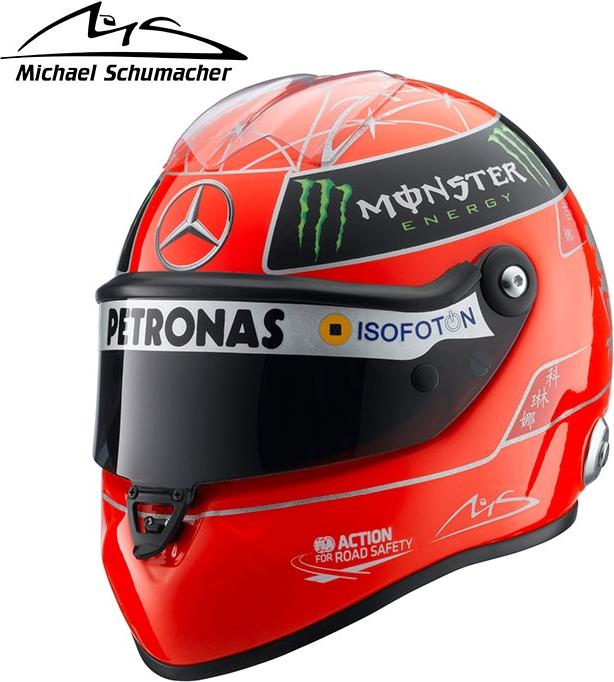 Motorimoda Michael Schumacher Schubert 1 2 Scale Helmet Michael Schumacher 2012 2202ac180015
