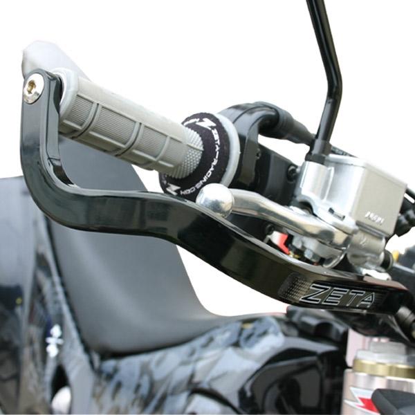 "Blue ZETA 7//8/"" Blue X2 Protector Kit Drop Handguard Handlebar Armor"