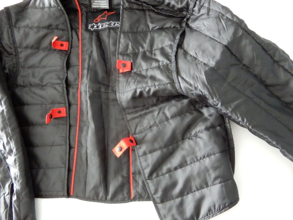 Black Fluo Alpinestars T-SP-1 Waterproof Sports and Touring jacket