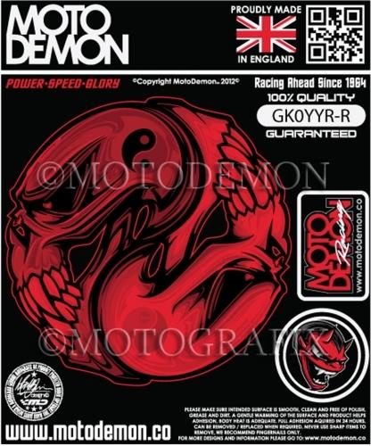 【MOTOGRAFIX】圖形貼紙 - 「Webike-摩托百貨」