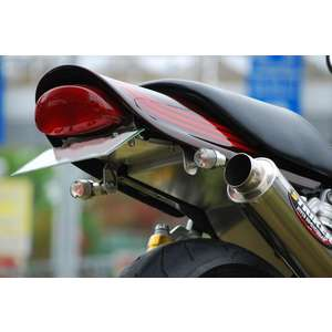 Bagus! Motor cycle Integrated Type Fender Eliminator Kit Silver