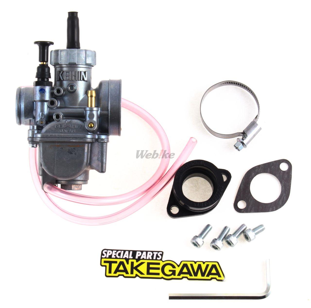 SP TAKEGAWA (Special Parts TAKEG : KEIHIN PE24 Carburetor