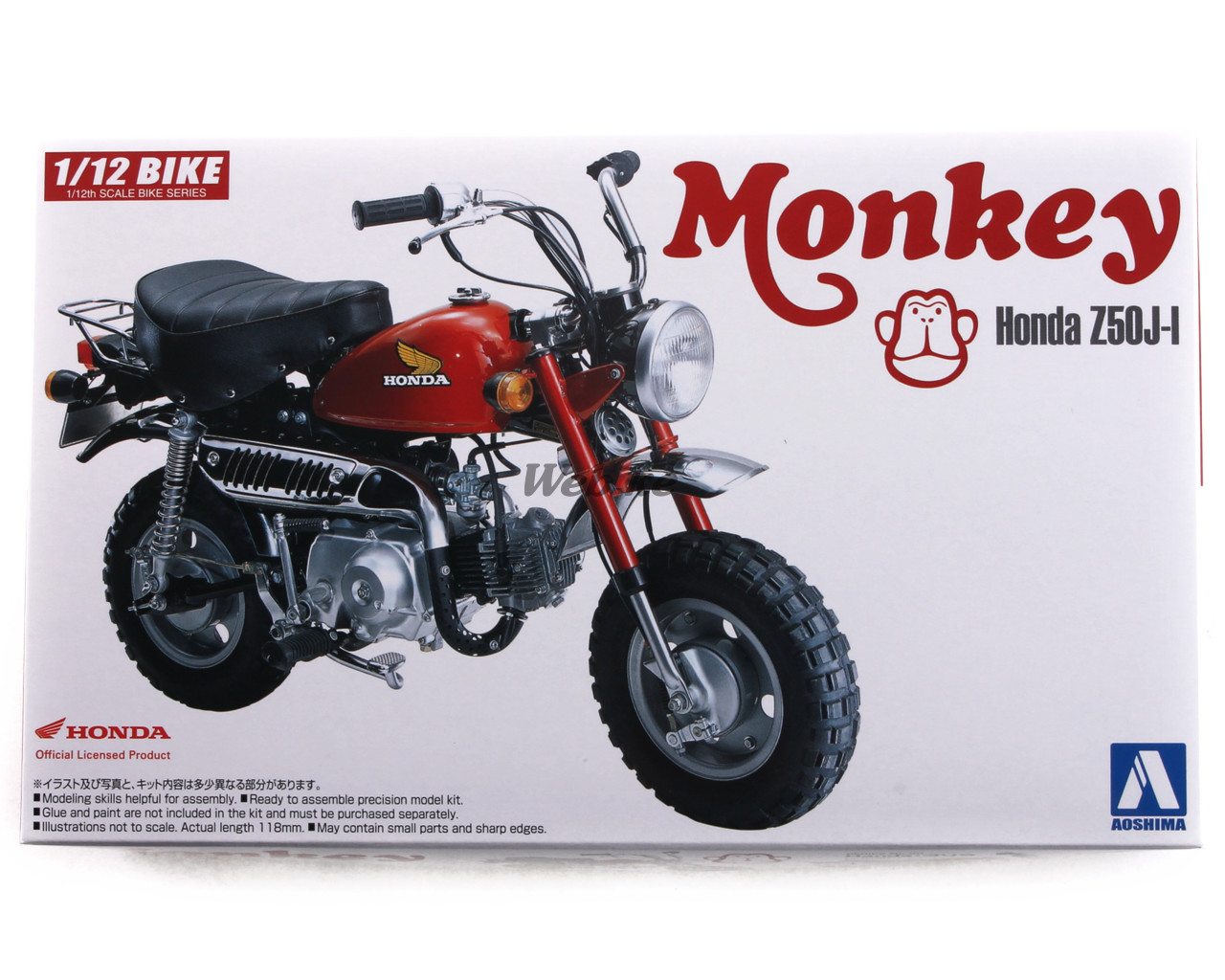 Monkey Plastic Model