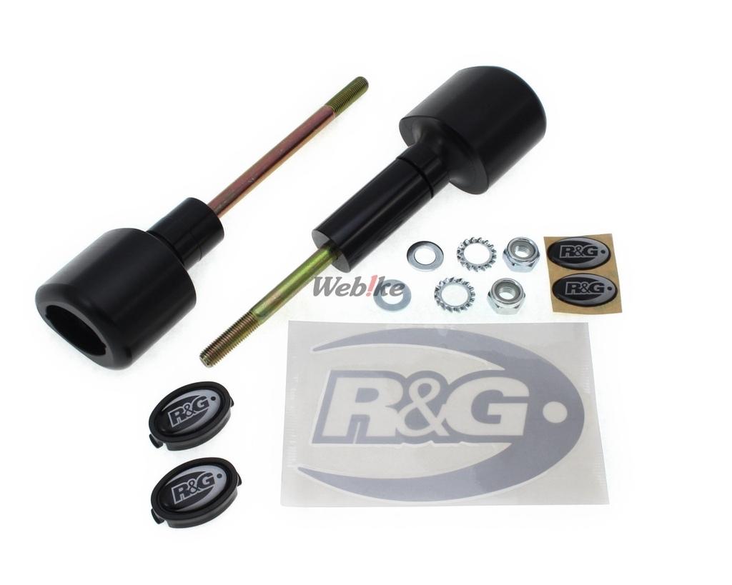 R&G : Crash Protectors Aero Style [CP0416BL]