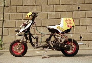 customers motorcycle brad jacintos honda  dash custom webike