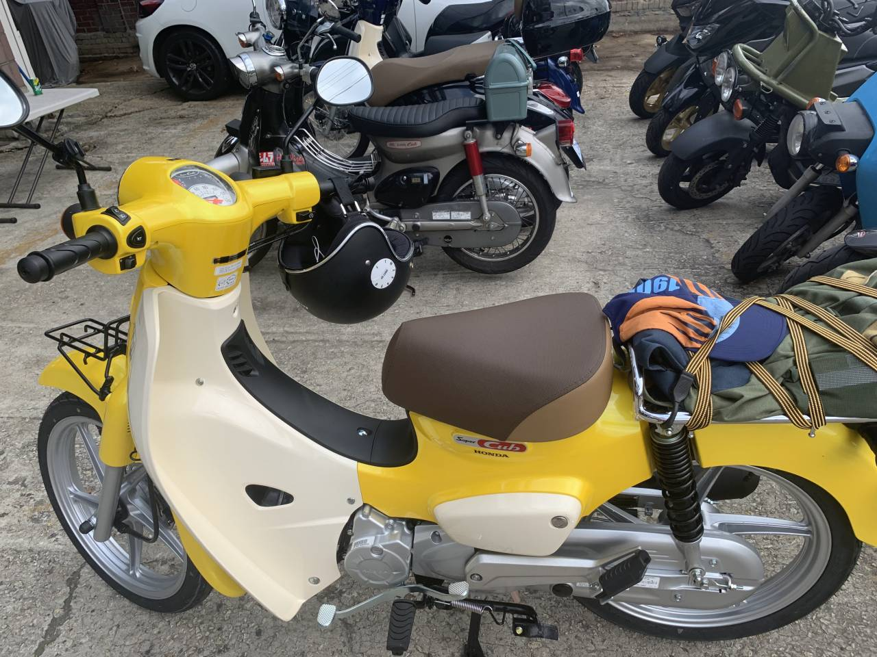 Customer S Motorcycle No Name S Honda Super Cub 110 C110 Custom Webike