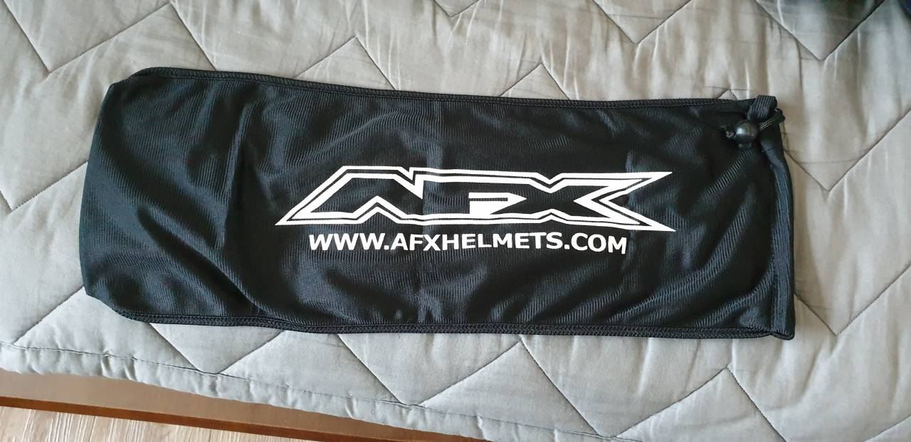 BAG SHIELD AFX BLACK [3514-0031]