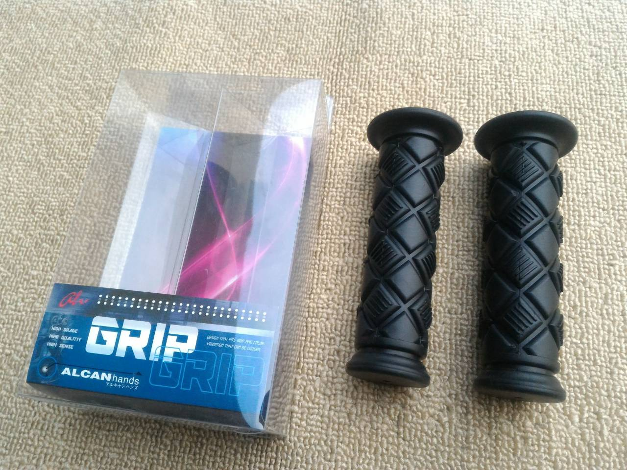 Black Rubber Grip Epsilon