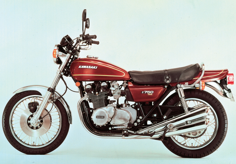 KAWASAKI Z750 (Air cooled, KZ750)